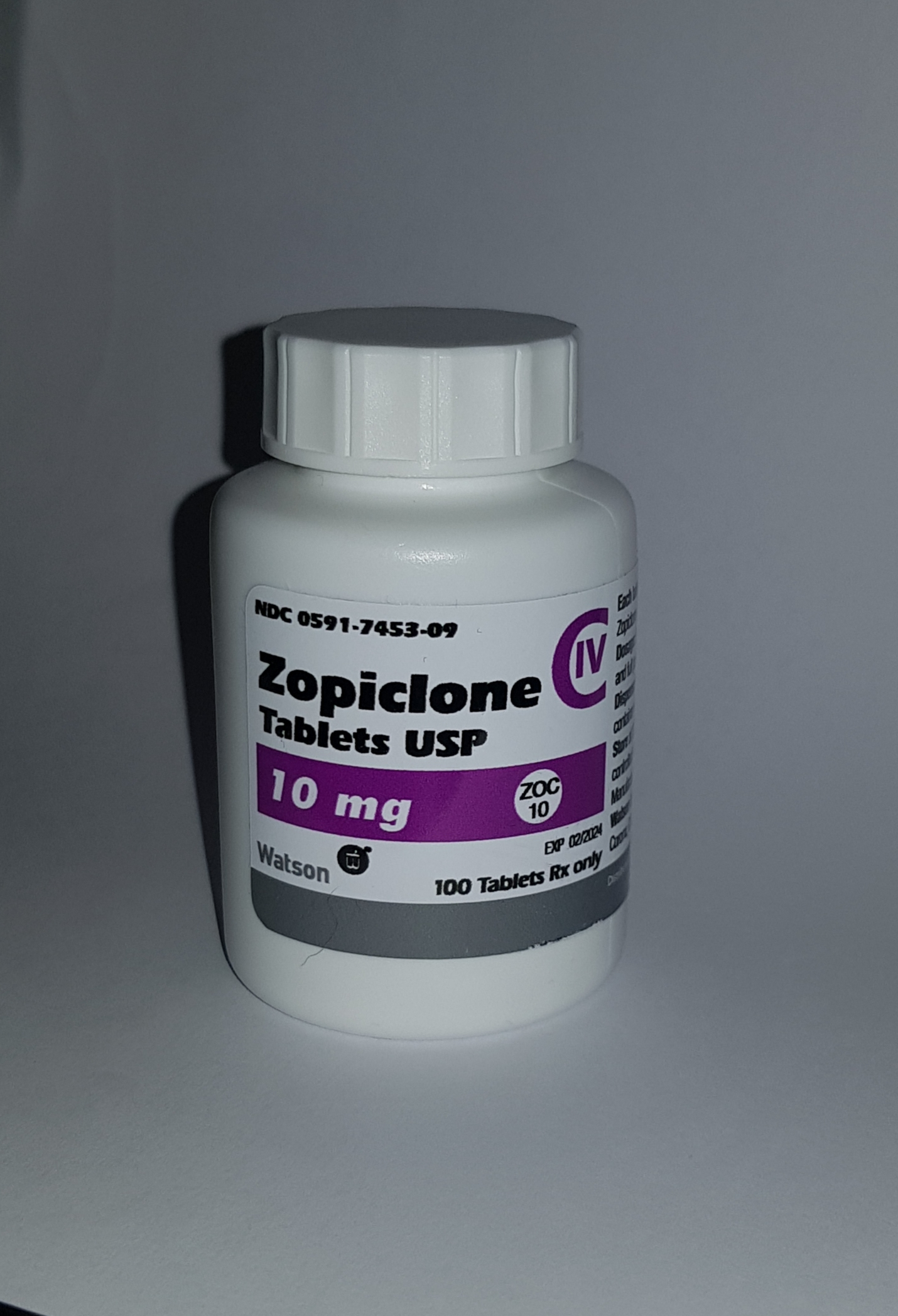 ZOPICLONE 10MG (x100 Tablets)
