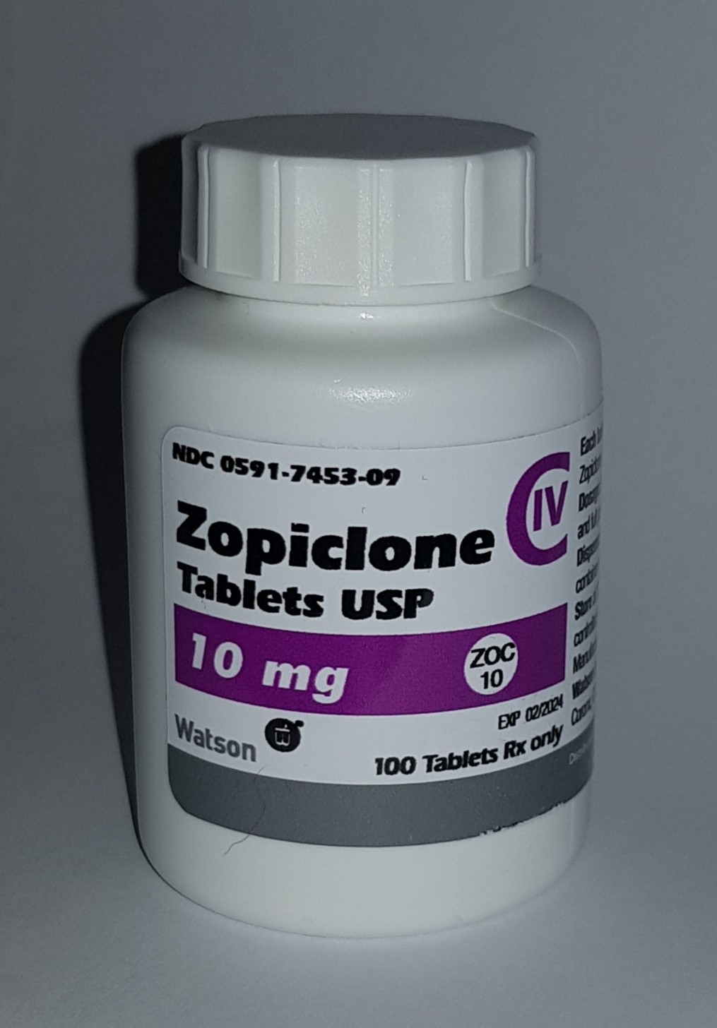 BUY ZOPICLONE 10MG (100 USA Tablets)
