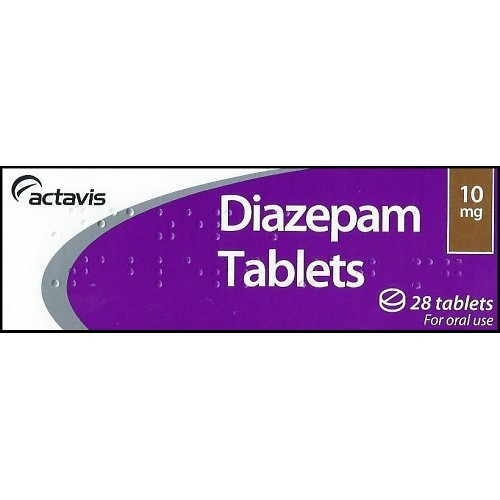 Buy 40 Indian Diazepam 10MG Tablets