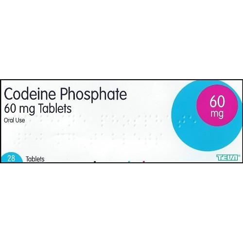 Buy Codeine Phosphate 60mg