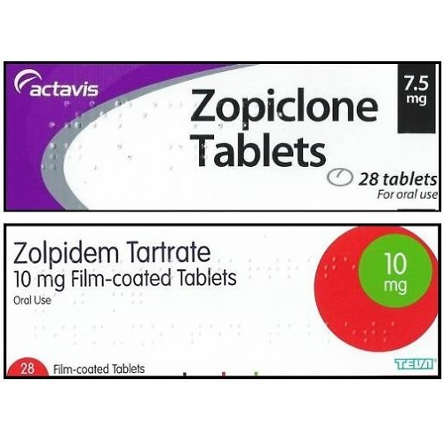 30 Indian Zopiclone 7.5mg Tablets, 30 Indian Ambien / Zolpidem 10mg Tablets