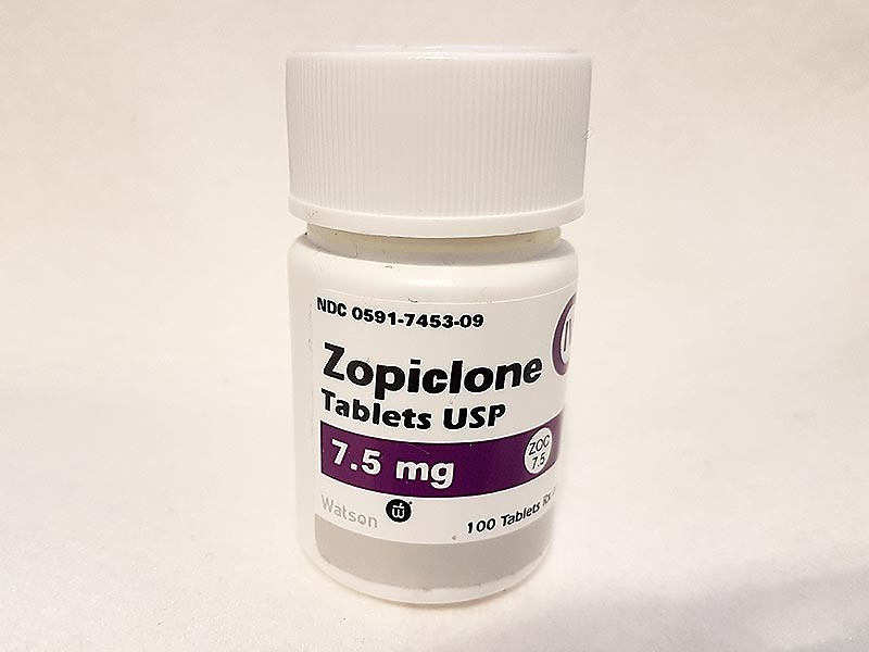BUY ZOPICLONE 7.5MG (100 USA Tablets)